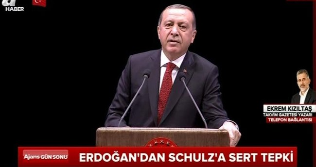 Cumhurbaşkanı Erdoğan: Çevirdiğiniz fırıldakları biliyoruz