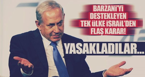 Netanyahu'dan İsrailli yetkililere 'referandum' yasağı