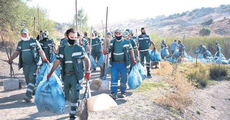 Doğamızın alın yazısı çöplerle yazılmasın: Olmuyo Gardaş