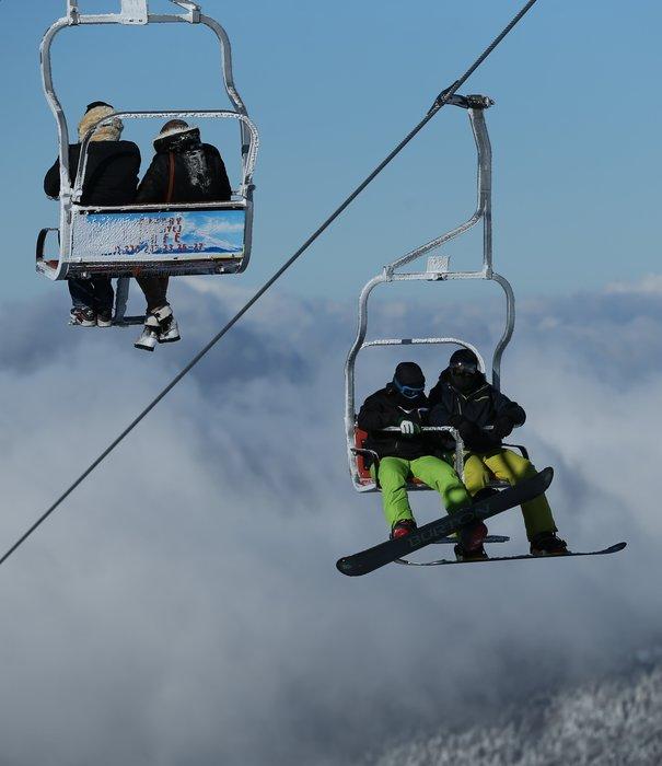 Uludağ'da Kar Manzaraları