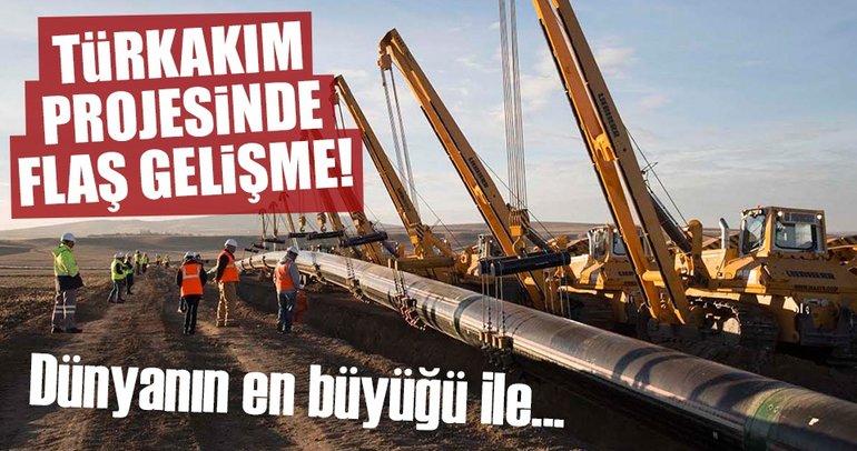 TürkAkım'da doğalgaz alım terminalinin inşaatına başlandı