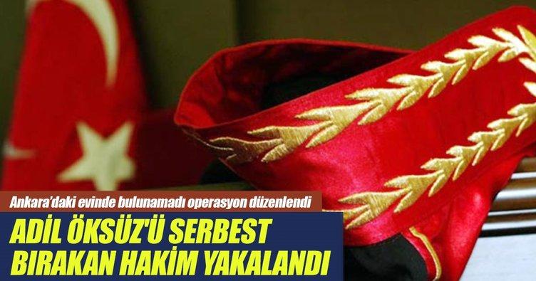Adil Öksüz'ü serbest bırakan eski hakim Muğla'da yakalandı