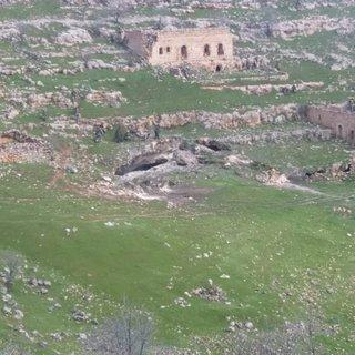 Mardin'de teröristlerin sığınak olarak kullandığı mağaraya operasyon yapıldı