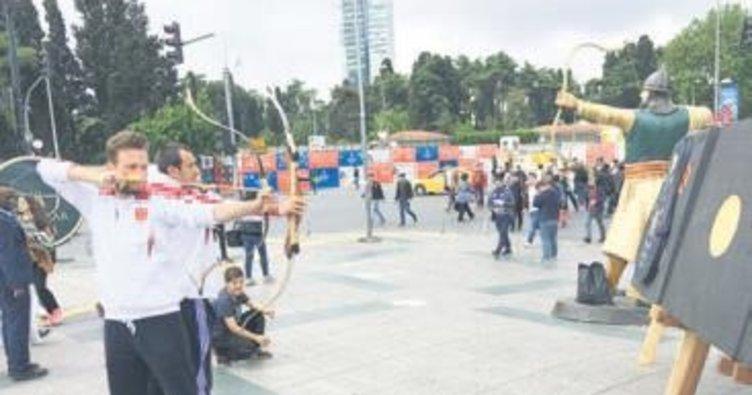 İstanbul'da ok fırtınası esecek