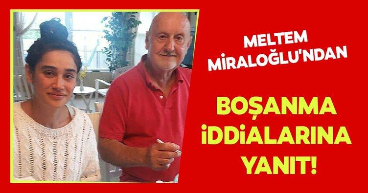 Meltem Miraloğlu'ndan 'boşanma' iddialarına yanıt!