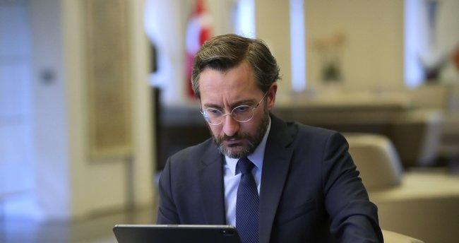 İletişim Başkanı Fahrettin Altun'dan koronavirüs tedbirleri paylaşımı