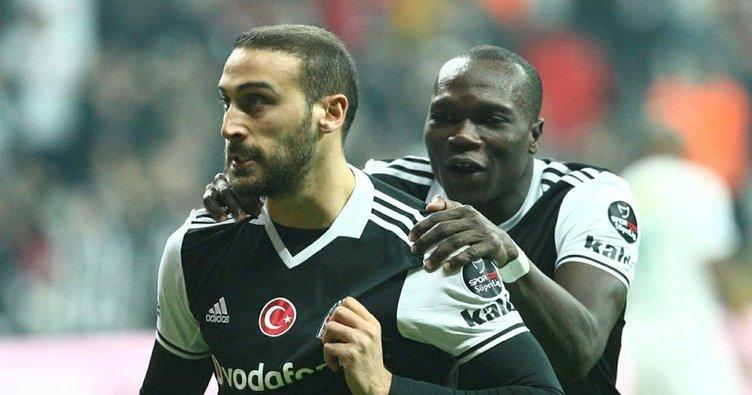 Aboubakar ve Cenk Tosun, Fenerbahçe'yi solladı