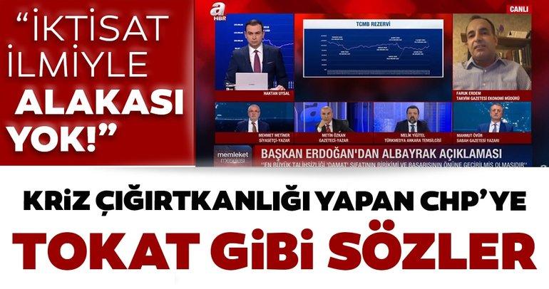Son dakika: Merkez Bankası rezervleri üzerinden kriz çığırtkanlığı yapan CHP'ye tepki: İktisat ilmiyle alakası yok