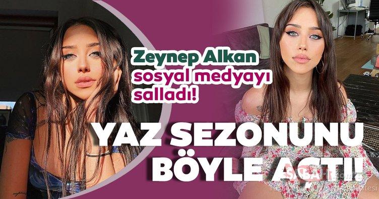 Hamdi Alkan'ın kızı Zeynep Alkan mini şortlu pozu ile sosyal medyanın dilinde... Zeynep Alkan yaz sezonunu böyle açtı...