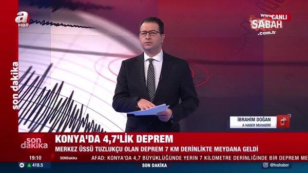 SON DAKİKA – Konya'da 4.7 şiddetinde deprem! Ankara ve Eskişehir'de de hissedildi! AFAD'dan ilk açıklama | Video