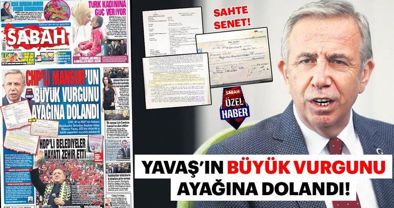 CHP'li Mansur Yavaş'ın sahte senet skandalı