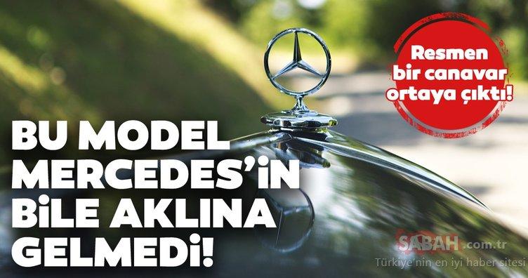 Bu model Mercedes'in bile aklına gelmedi! Mercedes arabasını canavara dönüştürdü! Görenler şoke oldu