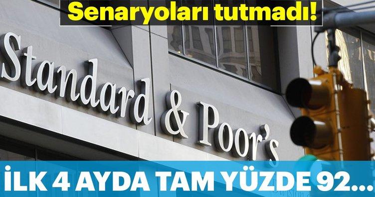 S&P'nin 'not senaryosu' tutmadı yatırımcı İstanbul'a koştu