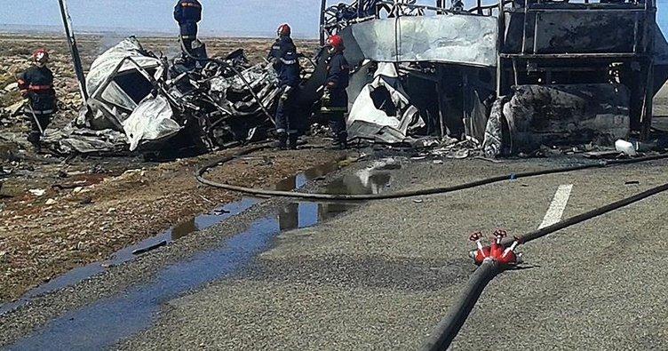 Brezilya'da trafik kazası: 21 ölü!