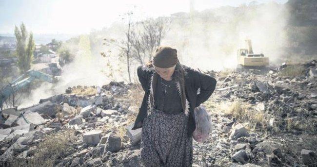 Altındağ'da 300 gecekondu daha yıkılıyor