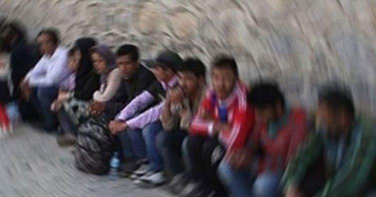 İzmir'de 78 düzensiz göçmen yakalandı