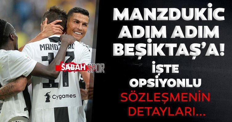 Son dakika: Beşiktaş'tın Mandzukic transferinde son pürüzler kaldı! Opsiyonlu sözleşme teklif edildi...
