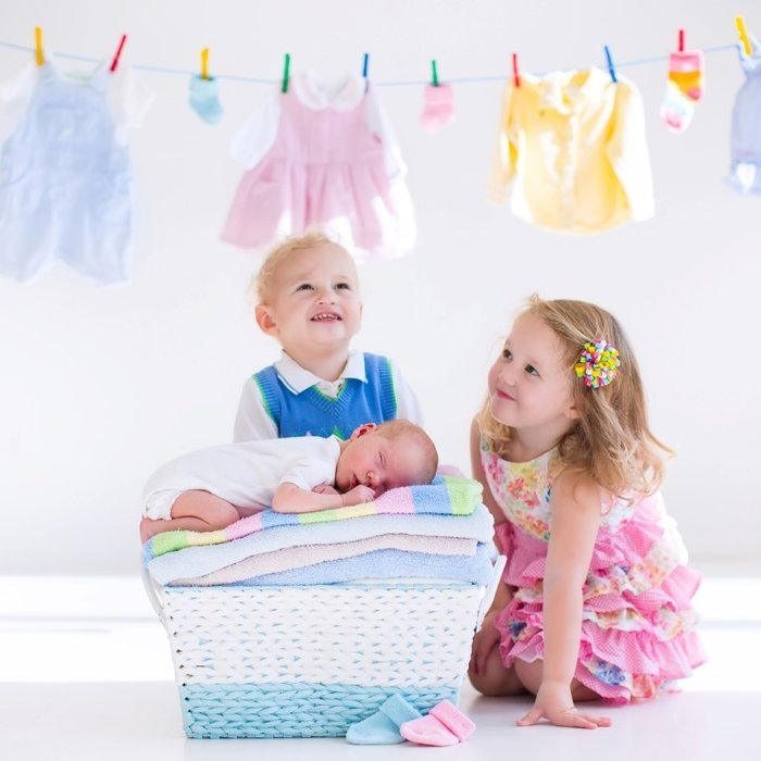 6 yaşına kadar özel deterjan kullanın, çift durulama yapın