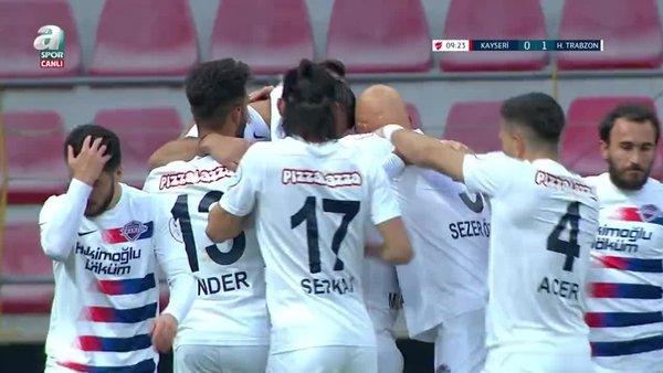 GOL | Kayserispor 0-1 Hekimoğlu Trabzon