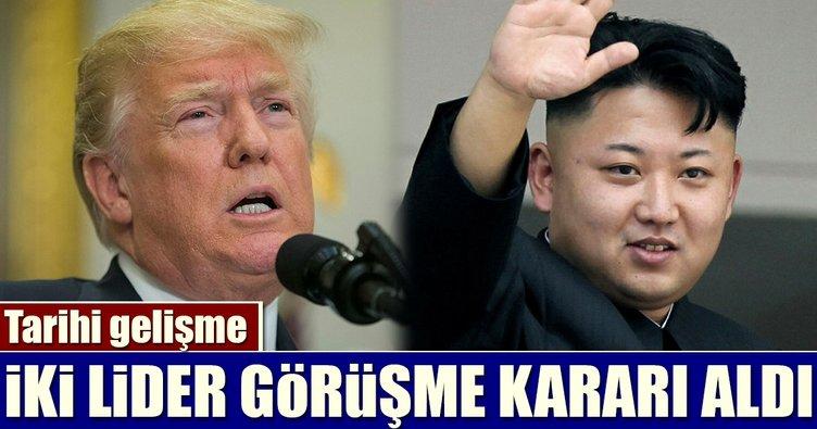 Donald Trump ile Kim Jong-un mayıs ayında görüşecek