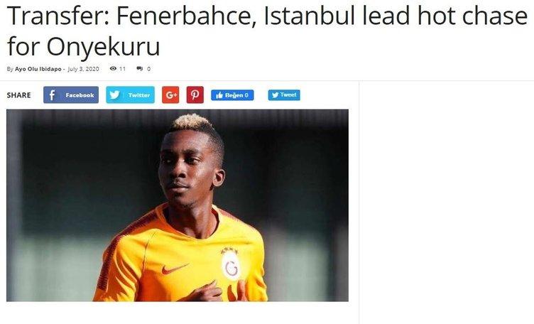 Onyekuru'ya Süper Lig'den 3 talip!