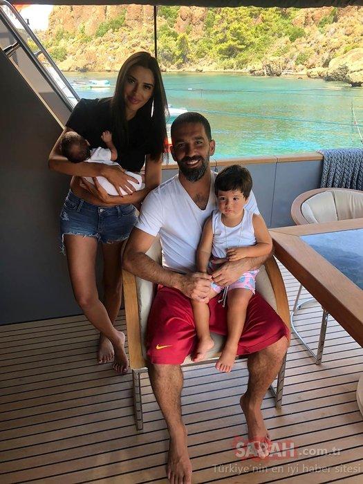 Aslıhan Doğan Turan ile Arda Turan'dan bebek açıklaması! Dört ay önce anne olmuştu...
