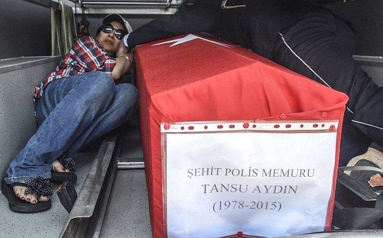 Şehit polis uğurlandı