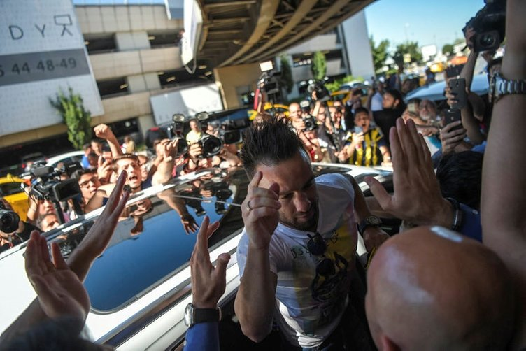 Fransa'da Valbuena şaşkınlığı!