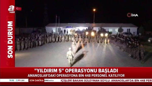 Son Dakika Haberi: Operasyona çıkan Mehmetçiklerden yürekleri titreten ant | Video