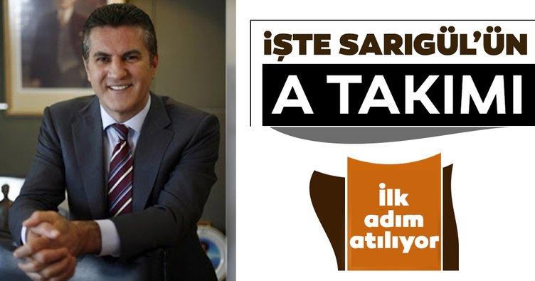Son dakika: Mustafa Sarıgül bugün sahalara iniyor:İşte Sarıgül'ün A takımı!