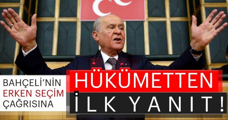 Devlet Bahçeli'nin erken seçim çıkışına Bekir Bozdağ'dan cevap!