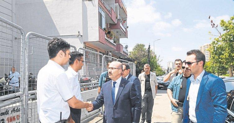 Vali Mahmut Demirtaş polislerin bayramını kutladı