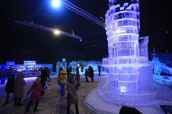Rusya'da buz şöleni