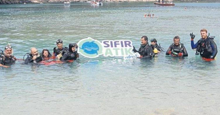 Denizde 'Sıfır Atık' projesi
