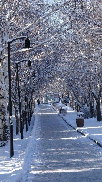 Nisan ayında Doğu Anadolu eksi 18 derece