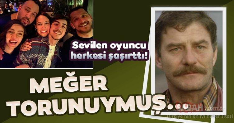 Usta oyuncu Ahmet Mekin'in torunu da oyuncu çıktı! İşte dedesinin izinden giden Ahmet Mekin'in torunu genç oyuncu Mekin Sezer...