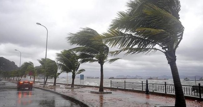 Adana'da kuvvetli rüzgar