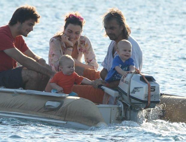 Ünlü oyuncunun tekne hayatı