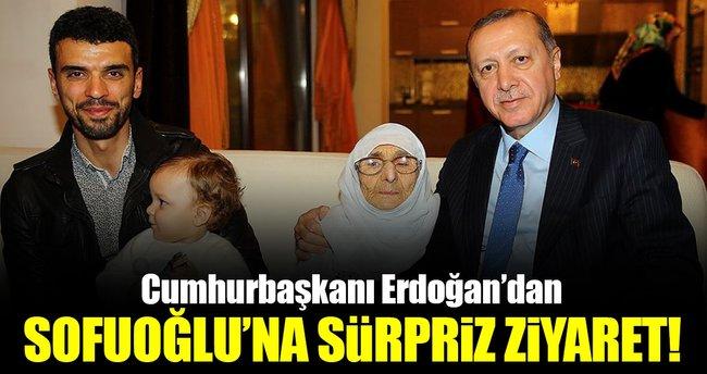 Cumhurbaşkanı Erdoğan, Kenan Sofuoğlu'nu evinde ziyaret etti!