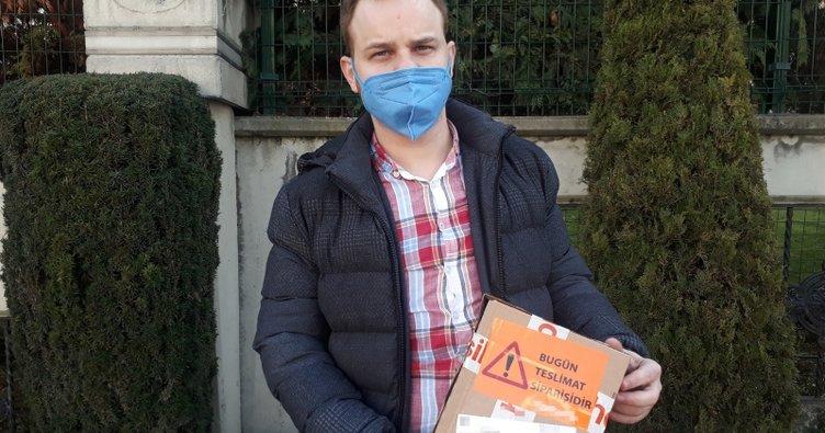 İstanbul'da yaşayan genç adam internetten telefon sipariş verdi! Bakın ne geldi!