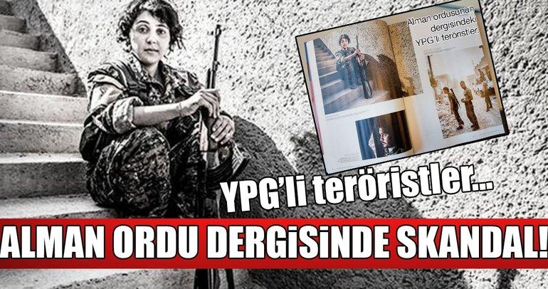 Alman ordu dergisinde büyük skandal: PKK'lı teröristlere yer verildi!