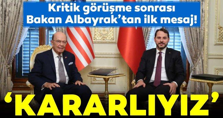 Bakan Albayrak'tan kritik görüşme sonrası ilk mesaj!