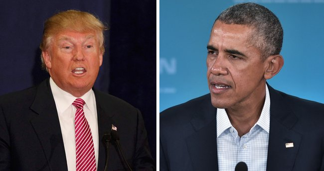 Obama'dan Trump'a kutlama!