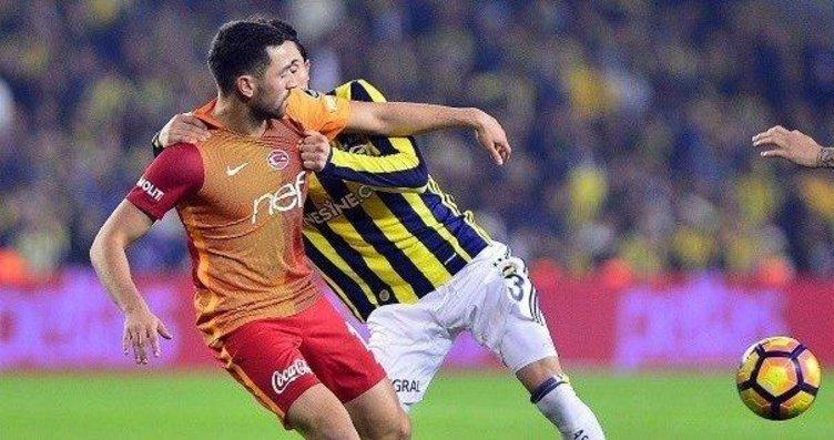 Galatasray - Fenerbahçe derbisi için çarpıcı...