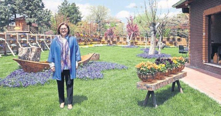 Gaziantep'e 500 bin metrekare park alanı