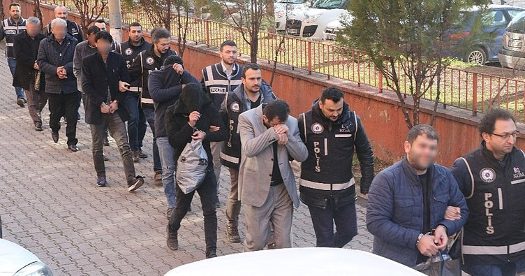 Organize suç çetesine 'Gölge' operasyonu