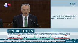 Cumhurbaşkanlığı Strateji veBütçeBaşkanıNaci Ağbal'dan bütçegörüşmeleri öncesi flaş açıklamalar
