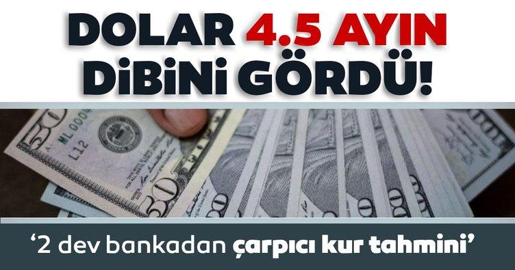 Son dakika: Dolar 4.5 ayın dibini gördü: İki dev banka beklentisini açıkladı: Dolar kuru 6.50 liraya kadar çekilebilir