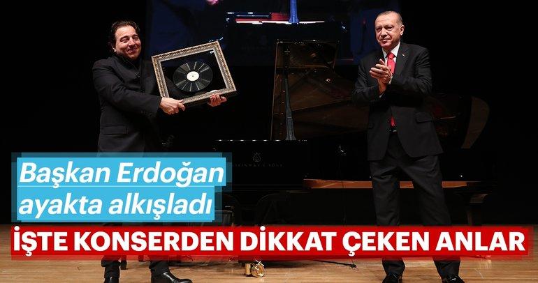 Başkan Erdoğan Fazıl Say konserinde