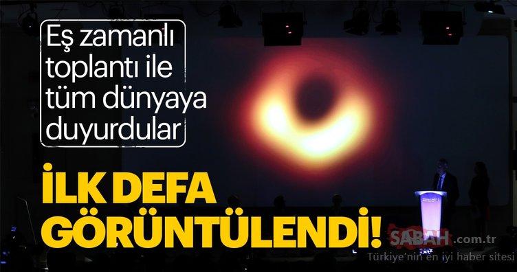 Son dakika haberi: Kara delik gizemi ile ilgili dünya tarihinde bir ilk! İşte ilk kez görüntülenen kara delik